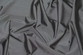 Tissu Lycra Brillant Gris Foncé -Au Mètre