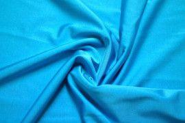 Tissu Lycra Brillant Turquoise -Coupon de 3 mètres
