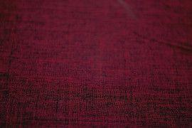 Tissu Burlington Flammé Rouge bordeaux -Au Mètre