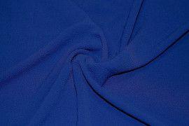 Tissu Crêpe Marocain Bleu Roi -Coupon de 3 mètres