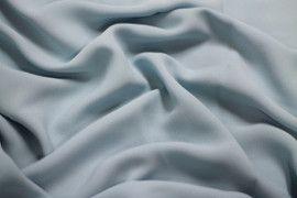 Tissu Crêpe Mousseline Twist Ciel -Au Mètre