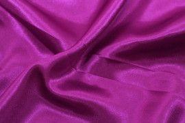 Tissu Doublure Satin Violet Petite Largeur Coupon de 3 mètres