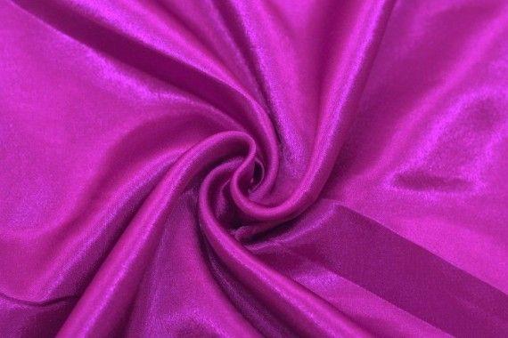 Tissu Doublure Satin Violet Petite Largeur -Au Mètre