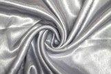 Tissu Doublure Satin Gris clair Petite Largeur Coupon de 3 mètres