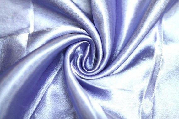 Tissu Doublure Satin Parme Clair Petite Largeur -Au Mètre