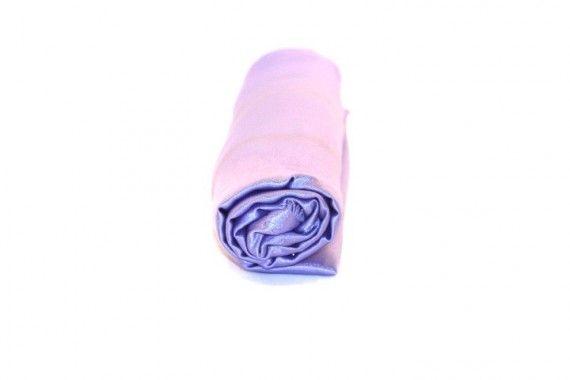 Tissu Doublure Satin Parme Clair Petite Largeur Coupon de 3 mètres