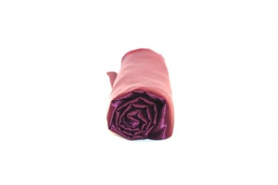Tissu Doublure Satin Prune Petite Largeur Coupon de 3 mètres