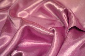 Tissu Doublure Satin Vieux Rose Foncé Petite Largeur -Au Mètre