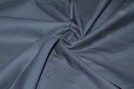 Tissu Gabardine lavée Marine Coupon de 3 mètres