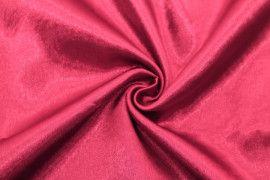 Tissu Doublure Satin Bordeaux Petite Largeur -Au Mètre