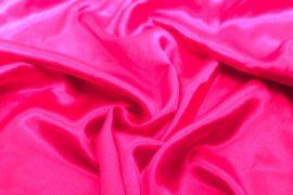 Tissu Doublure Satin Fuchsia Petite Largeur -Au Mètre