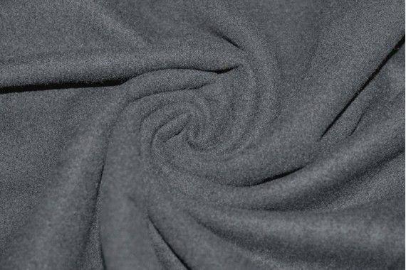 Tissu Caban Gris Coupon de 3 mètres
