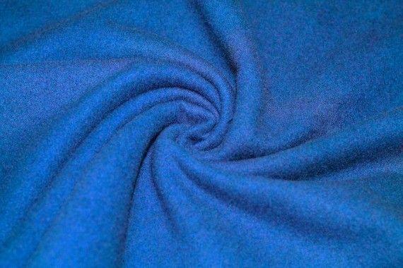 Tissu Caban Bleu Royal Coupon de 3 mètres