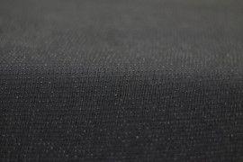 Tissu Maille Lurex Noir/Noir -Au Mètre