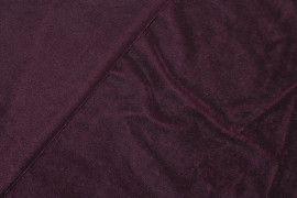 Tissu Velours Extensible Bordeaux -Au Mètre
