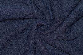 Tissu Maille Pull Blum Marine -Au Mètre