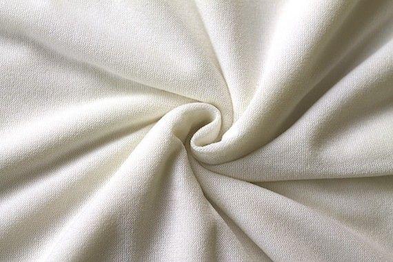 Tissu Maille Pull Blum Ecru -Au Mètre