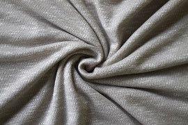 Tissu Maille Pull Marble Beige -Au Mètre