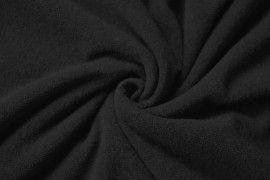 Tissu Maille Pull Blum Noir -Coupon de 3 mètres