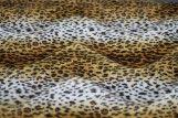 Fourrure synthétique léopard