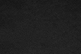 Tissu Maille Doublée Fourrure Noire/Grise -Au Mètre