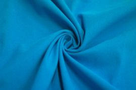 Tissu Bengaline Turquoise -Au Mètre