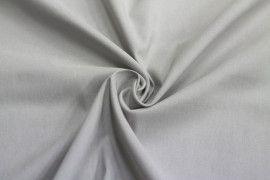 Tissu Bengaline Gris Clair -Coupon de 3 mètres