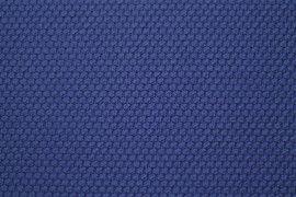 Tissu Nid d'abeille Bleu Roi -Coupon de 3 mètres
