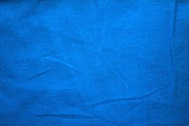 Tissu Voile Uni 100% Coton Turquoise -Au Mètre