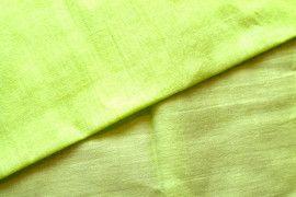 Tissu Voile Uni 100% Coton Anis -Au Mètre