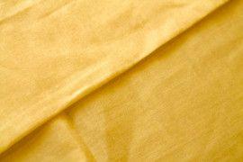 Tissu Voile Uni 100% Coton Jaune -Au Mètre