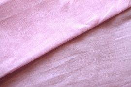 Tissu Voile Uni 100% Coton Rose -Au Mètre