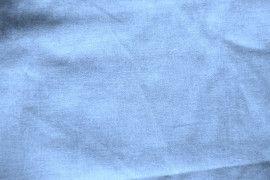 Tissu Voile Uni 100% Coton Bleu Ciel -Coupon de 3 mètres