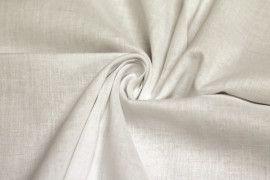 Tissu Voile Uni 100% Coton Ecru -Coupon de 3 metres