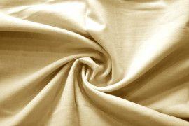 Tissu Voile Uni 100% Coton Beige -Coupon de 3 mètres