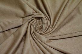 Tissu Suédine Maille Légère Beige -Au Mètre