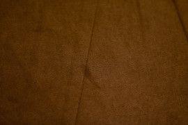 Tissu Suédine Maille Légère Camel Foncé -Au Mètre