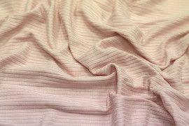 Tissu Jersey Bord Côte Nude -Coupon de 3 mètres