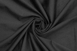 Tissu Suédine Maille Légère Noire Coupon de 3 mètres