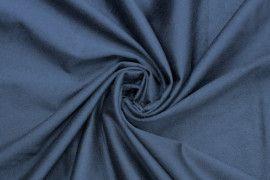 Tissu Suédine Maille Légère Indigo Coupon de 3 mètres