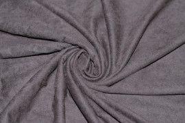 Tissu Suédine Maille Légère Taupe Coupon de 3 mètres