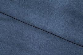 Tissu Suédine Maille Légère Indigo -Au Mètre