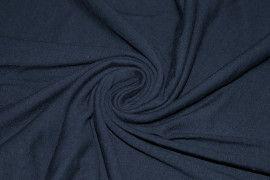 Tissu Jersey Coton Marine Coupon de 3 mètres