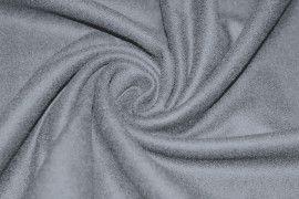 Tissu Drap de Laine Gris Coupon de 3 metres
