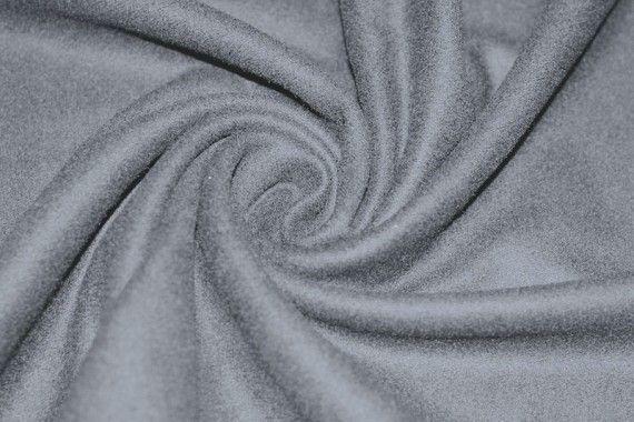 Tissu Drap de Laine Gris Coupon de 3 mètres