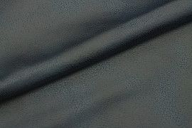 Tissu Suédine Laquée Serpent Bleu Canard -Au Mètre