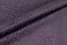 Tissu Suédine Laquée Serpent Violet -Au Mètre