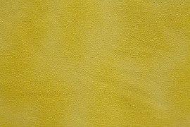 Tissu Suédine Laquée Serpent Jaune -Au Mètre