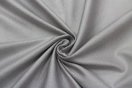 Tissu Suédine Laquée Serpent Gris Clair -Coupon de 3 mètres