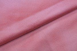 Tissu Suédine Laquée Serpent Corail -Coupon de 3 mètres